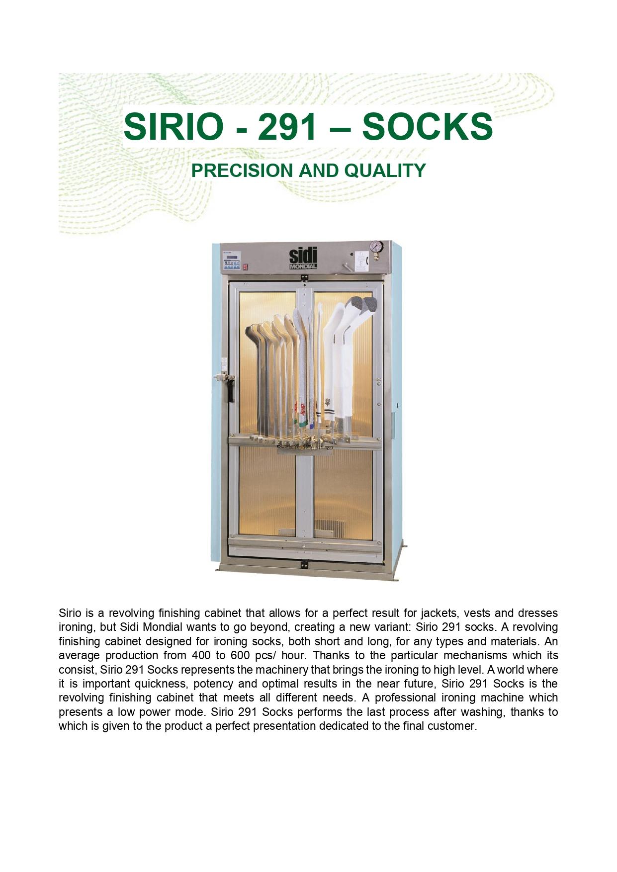 SIRIO-291-SOCKS